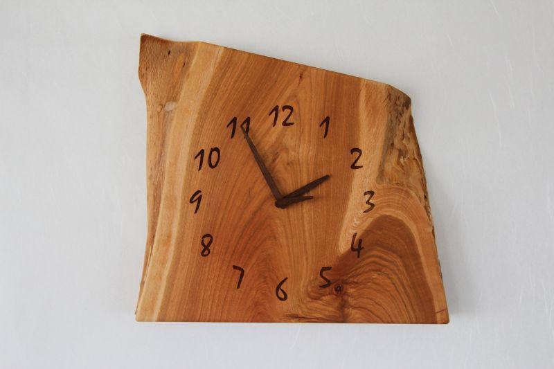 画像1: 壁掛け時計 桜 (1)